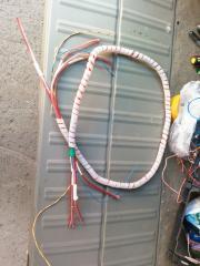 Кабельный жгут от магнитафона к проводам усилителя