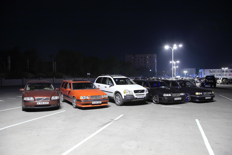 Очередная встреча volvo-club.kz