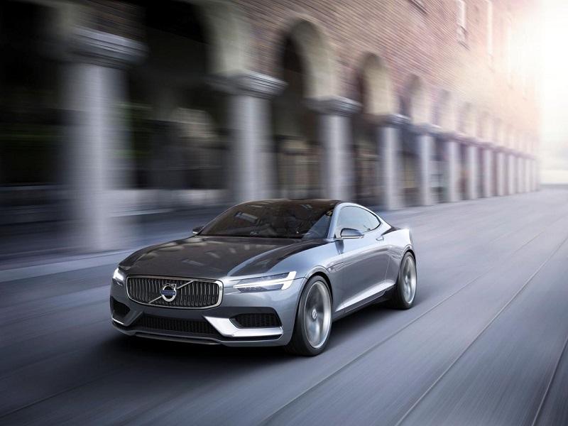 Volvo концепт купе (начало новой эры)