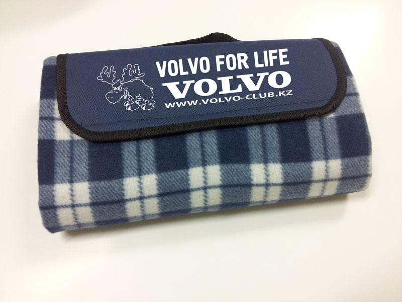 Плед автомобильный Volvo-club.kz