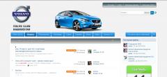 Новый дизайн Volvo-club.kz