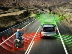 Volvo Accident avoiding Self driving Car