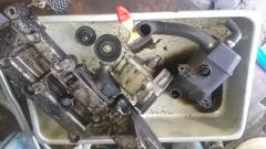 очистка замена вентиляции картерных газов Volvo S80 с мотором Т6