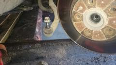 демонтаж рулевого наконечника