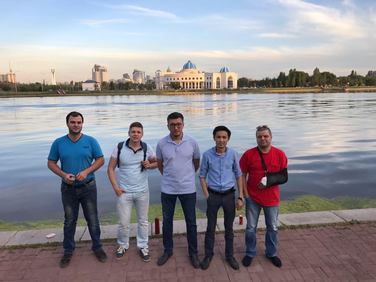 Встреча 22 июня на набережной с представителем клуба из Красноярска
